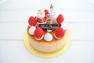 ココット(クリスマス_チーズケーキ)
