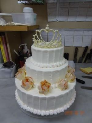 ココット ウェディングケーキ