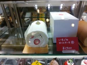 ココット イチゴロールケーキ