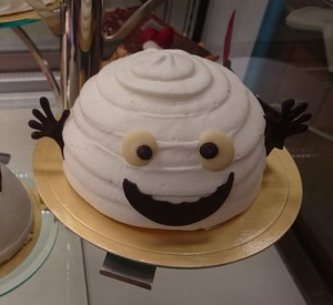バースデーケーキ ハロウィンバージョン